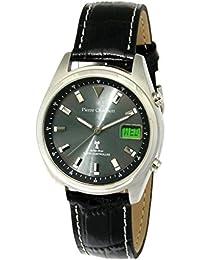 Pierre pantalones Bert Herren-reloj analógico de pulsera - Digital Cuarzo Cuero RCSLDDSS41SV17