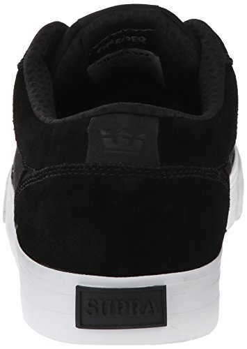 Pattini Uomo chuh Supra Shredder Skate Shoes Black/White
