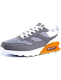 GJRRX Zapatillas Deporte Hombre Zapatos para Correr Athletic Cordones Air Cushion Running Sports Sneakers Zapatos Antideslizantes Ligeros