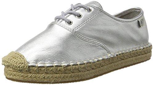 Marc O'Polo Damen 70313963802110 Espadrilles Silber (Silver), 41 EU