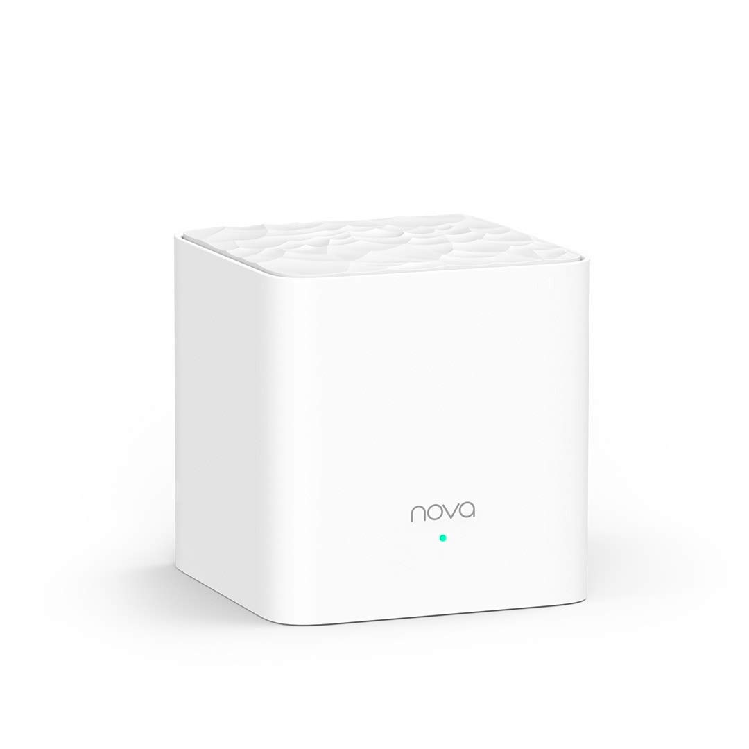 Tenda Nova Echtes Dual-Band Mesh WLAN Zusatzstation Gigabit Ports, für Häuser, Büros, Wohnun