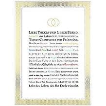 Suchergebnis Auf Amazon De Fur Hochzeitsgeschenke Von Trauzeugen