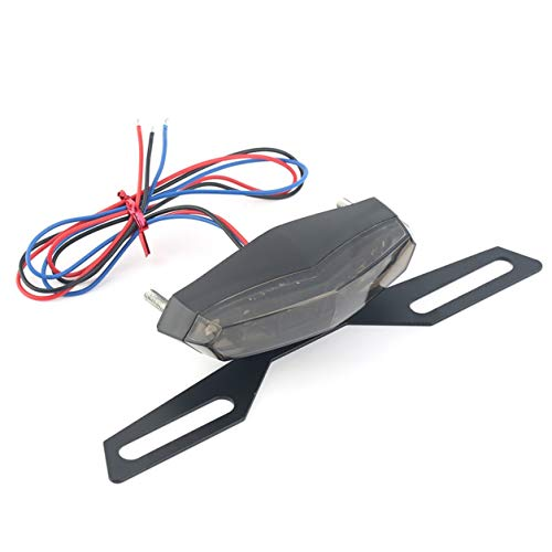 Professionnel LED moto arrière Feu arrière Bonne qualité d'arrêt lumière de frein