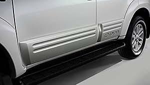 Jianvish - Door Cladding /Door Guard / Door Protector (GREY) for Toyota Fortuner 2WD AT Diesel