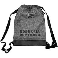 Borussia Dortmund Turnbeutel grau
