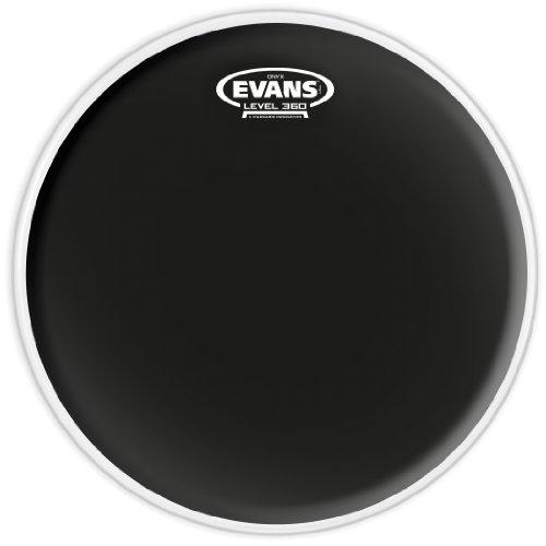 Evans B16ONX2 40,64cm (16 Zoll) Tomfell Onyx zweilagig 0,19mm, Schwarz
