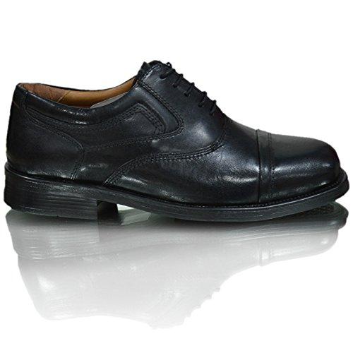 oaktrak pinham schwarz, braun oder castagnia Leder Brogues Oxford Works Herren Schuhe Black Stone Bridge