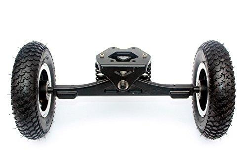 Monopatín eléctrico del monopatín del cami Monopatín de las montañas de Longboard de la rueda Monopatín de 11 ruedas de la pulgada Rueda de 8 pulgadas (normal truck)