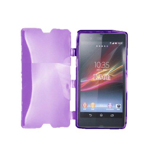 Lapinette Schutzhülle Gel-Schutzhülle für Sony Xperia Z, Violett