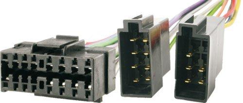 Auto-Radio Adapter-Kabel JVC 16-pin Stecker -> ISO Buchse KD-FX KD-G KD-S KD-MD DIN Kabel-Baum ()