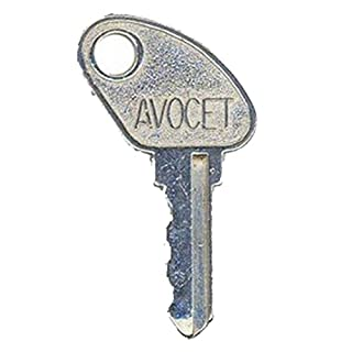 Avocet WMS Lightning Upvc Window Handle Key