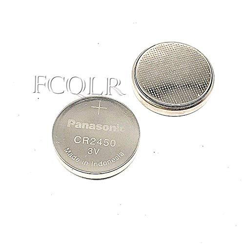 FCQLR 1PCS kompatibel für Panasonic CR2450 Button Batterie 3V BMW car Key Remote Control - Kompatible Cmos-batterie