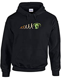 Brand88 - Evolution of Cthulhu, Printed Hoodie