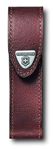 Victorinox Zubehör Etui Leder braun Mantel, one size (Port Original-tasche Die)