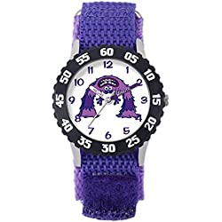 Disney Monsters University-- W001133's Watch Analogue Quartz White Dial, Bracelet, Nylon Blue