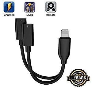 Für iPhone Adapter Kopfhöreadapter Splitter Adapter für iPhone