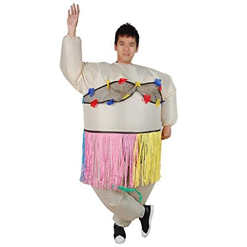 YXZOZZ Halloween Aufblasbares Kostüm Aufblasbare Ballerina Kostüm Anzug Party Outfit