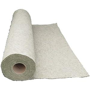 Nager-Teppich aus 100 % Hanf, Meterware, 1 m x 2,5 m x 1 cm dick (EUR 11,50/m²), Nagermatte geeignet als Käfig Bodenbedeckung z.B. für Kaninchen, Meerschweinchen, Hamster, Degus, Ratten und andere Nagetiere.