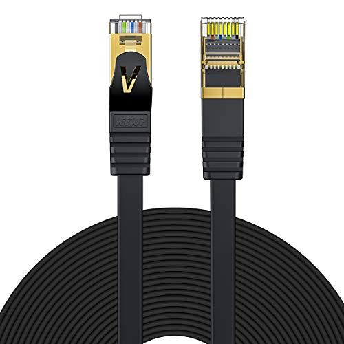 Veetop CAT 7 RJ45 Plat | Câble ethernet...