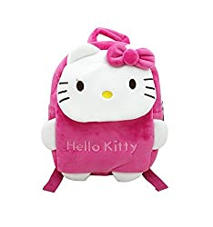 Stuff Jam Soft Material Bag With Adorable Cartoon Character - (Small)
