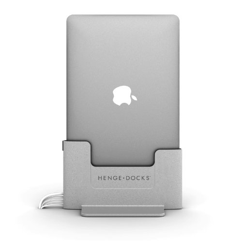 Henge Metall Dockingstation für 38,1 cm Apple MacBook Pro Retina - Grau