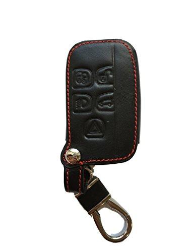 MAINT-Lederetuis Schlüsseltasche Hülle Etui Leder – Schutz & Schlüsselanhänger Ersatz - Schlüssel Cover – für Range Rover LR4 Sport Evoque