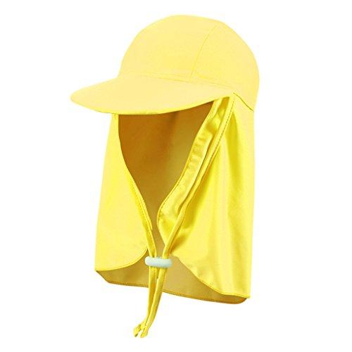 Bambini Cappello da Sole Cuffia da Nuoto - Berretto per Bambina E Bambino  Cappello Protezione Solare Cappello Spiaggia Estate 3c1fd473e19d