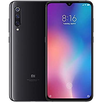 "Xiaomi Mi 9 Smartphone, 64 GB, display AMOLED 6.39"", 2280x1080, Snapdragon 855 Octa-core, 6 GB RAM, tripla fotocamera 48+16+12 MP, Nero Onice [Versione italiana]"