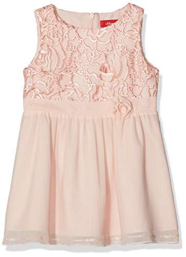 s.Oliver Baby-Mädchen Kleid 59.811.82.5617, Rosa (Light Rose 4058), 74