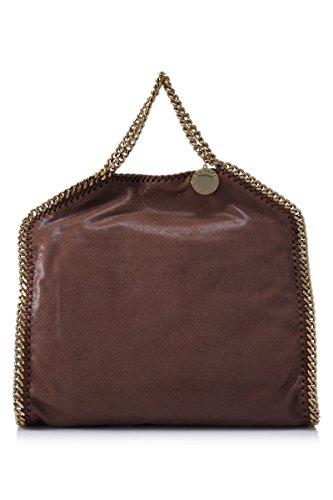 Stella-Mccartney-Womens-234387W93556464-Brown-Polyester-Handbag