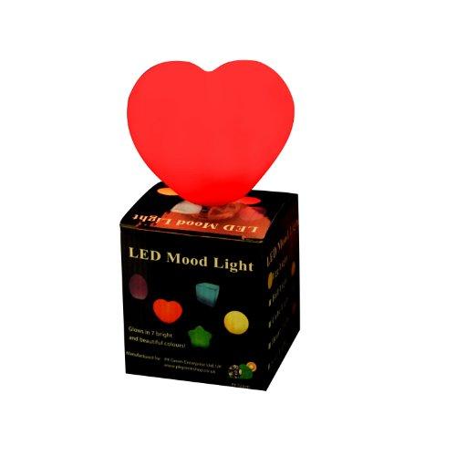 Pk green luce emozionali a led colorata e cangiante - cuore