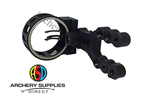 ASD Hawk 3 Pin Archery Fibre Optic Compound Bow Sight