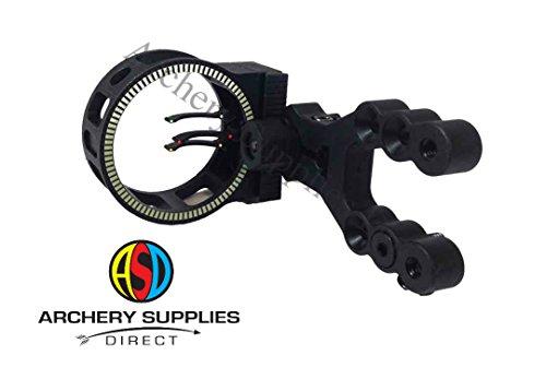 ASD Hawk 3 Pin Archery Fibre Optic Compound Bow Sight Test