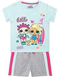 LOL Surprise Conjunto de Camisa y Shorts para niñas Dolls