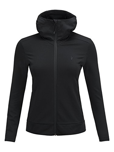 Peak Performance W Ace Zip Hood black - L