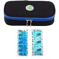 Vianber Tragbare Insulin-Organisator-Kühltasche, Medizinische Sorgfalt-Schutz-Kasten-Reise-Kühltasche mit Eisbeutel... preisvergleich bei billige-tabletten.eu