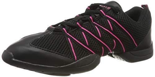 Bloch 524 Rosa Criss Cross Tanz Sneaker Größe 43 1/3 EU