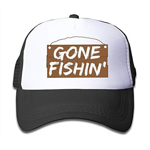 Obsessive Zwangsfischen Fashion Toldder Kids Cute Einstellbare Mesh Cap Hats Travel School Cap -