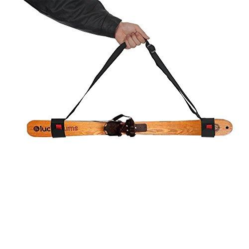 Tourwin Spessa da Sci Spalla, Sci Tracolla Borsa,Sci Cinghia,Ski Tracolla, Ski Portatile Cinghie,Snowboard Velcro Strap Bag