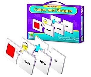 Allkindathings - Juego de Puzzle de Colores y Formas para niños de Juguete Educativo Preescolar