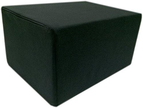Bandscheibenwürfel mit Schwarzen Bezug, Stufenlagerung, Stufenlagerungswürfel, Stufenbett, Reha, Orthopädischer, Positurkissen, Lagerungskissen, Stufenlagerung - 55 cm x 45 cm x 35cm