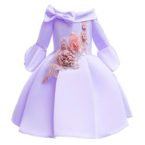 Knowin Mitte Trägerloser Rock mit Muslimischer Blüte für Ramadan Festival Rock Prinzessin Tutu Birthday Party Wedding Dress Kostüm Dance Fotografie Sommer Babybekleidung Suit Formelle Kleidung