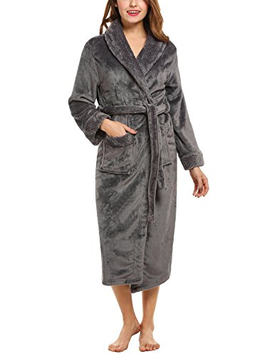 hotouch femme peignoir eponge manches longues kimono robe. Black Bedroom Furniture Sets. Home Design Ideas