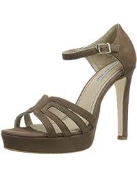 Tosca Blu Shoes GREEN SS1411S204 - Sandalias de cuero para mujer, color marrón, talla 36