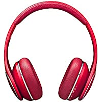 Samsung Original Level On-Ear Wireless Headphones for Smartphone and MP3 Device - Red