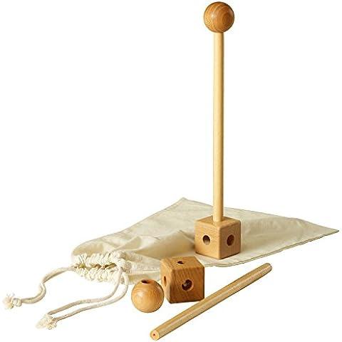 Pedalo boco Stick I Entrenamiento de coordinación I Balance Entrenamiento I Visual Entrenamiento I balanci Varilla de madera