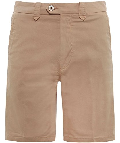 corneliani-hombres-pantalones-cortos-de-chino-48-regular-amarillo