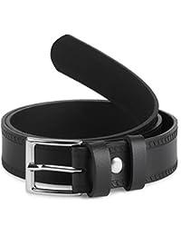 Ladeheid Cinturón de cuero para niños 2,5 cm K1D5