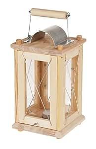 laterne sturmleuchte 15x15x30 cm holz bausatz f kinder werkset bastelset ab 12 jahren amazon. Black Bedroom Furniture Sets. Home Design Ideas