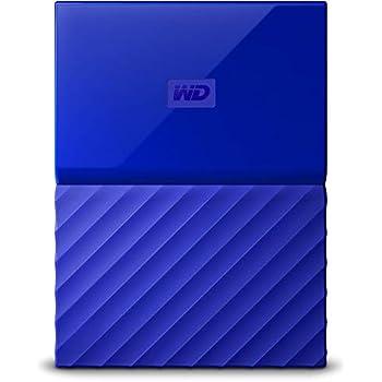WD My Passport - Disco Duro Portátil de 4 TB y Software de Copia de Seguridad Automática, Azul
